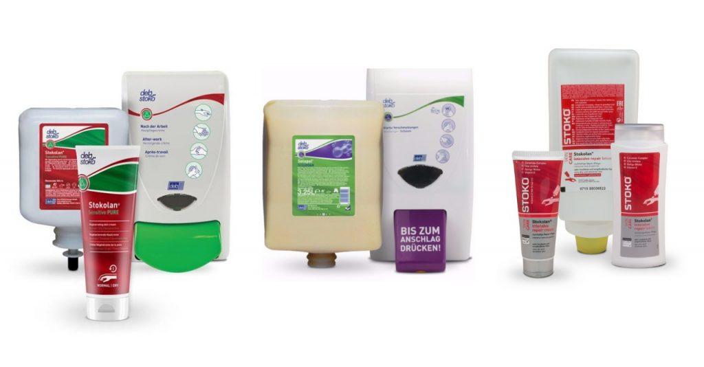 ochrona rąk w przemyśle - produkty debStoko