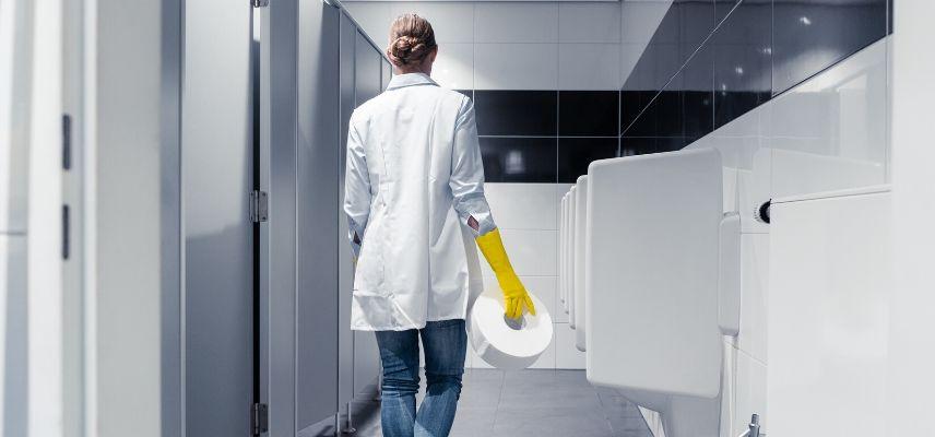 toaleta w miejscu pracy