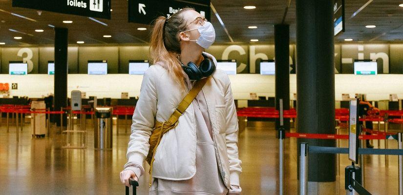lotniska w trakcie pandemii